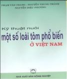 Ebook Kỹ thuật nuôi một số loài tôm phổ biến ở Việt Nam - Nxb. Nông nghiệp