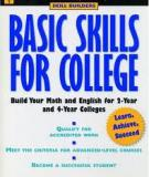 Basic Skills for College