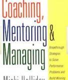 Coaching, Mentoring and Managing - Part 2