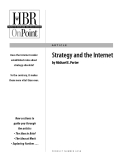 Tài liệu tiếng anh về Strategy and the Internet