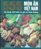 Việt Nam với 555 món ăn ngon