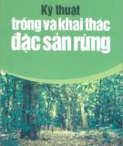 Đặc sản rừng với kỹ thuật trồng và khai thác