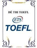 ĐỀ THI TOEFL