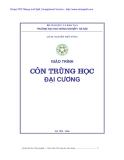Giáo trình Côn trùng học đại cương - GS.TS. Nguyễn Viết Tùng