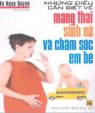 Ebook Những điều cần biết về mang thai sinh nở và chăm sóc em bé - Vũ Ngọc Quỳnh