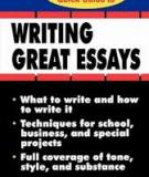 Schaum's Quick Guide To Essay Writing Great Essays