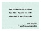 ĐẠI DỊCH CÚM A/H1N1-2009  - Cấp cứu bệnh nhân chấn thương cột sống tại hiện trường - VŨ VIẾT CHÍNH