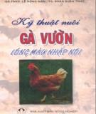 Ebook Kỹ thuật nuôi gà vườn lông màu nhập hội - NXB Nông Nghiệp