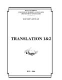 Giáo Trình TRANSLATION 1&2