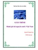 Giáo trình: Đánh giá tài nguyên nước Việt Nam