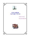 Giáo trình Vật liệu vô cơ - GS. Phạm Văn Tường