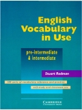 English Vocabulary In Use - Pre Intermediate & Intermediate