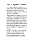 Chapter 107. Transfusion Biology and Therapy