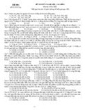 Đề thi thử đại học cao đằng môn hóa năm 2012_Đề số 004