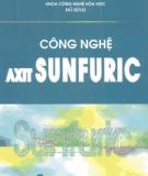Ebook Công nghệ Axit Sunfuric - Đỗ Bình