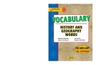 Vocabulary: History and Geography Words