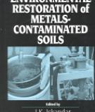 ENVIRONMENTAL RESTORATION of METALS CONTAMINATED SOILS