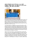 MỘT SỐ BIỆN PHÁP VỀ NÂNG CAO CHẤT LƯỢNG GIẢNG DẠY CHO ĐỘI NGŨ GIÁO VIÊN TRƯỜNG TIỂU HỌC KIM ĐỒNG