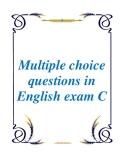 luyện thi chứng chỉ quốc gia, luyện môn tiếng anh, câu hỏi trắc nghiệp ôn tập, chứng chỉ A, chứng chỉ B, chứng chỉ C