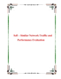 Self – Similar Network Traffic and Performance Evaluation