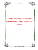 Raido - Frequency and Microwave Communication Cicuits: Analysis and Design