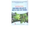 Tủ sách kiến thức nhà nông cân đối và hợp lý cho cây trồng hướng dẫn bón phân
