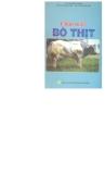 Chăn nuôi bò thịt (Ts Lê Đăng Đảng, Bs Lê Minh Châu & Bs Hồ Mộng Hải)