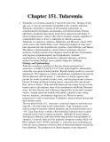 Chapter 151. Tularemia