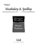 Vocabulary & Spelling