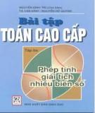 Bài tập toán cao cấp - Nguyễn Đình Trí - Tập 3 Phép tính giải tích nhiều biến số