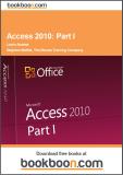 Access 2010_part I