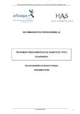 TRAITEMENT MEDICAMENTEUX DU DIABETE DE TYPE 2
