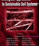 BIOLOGICAL APPROACHES TO SUSTAINABLE SOIL SYSTEMS