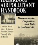 HAZARDOUS AIR POLLUTANT HANDBOOK Measurements, Properties, and Fate in Ambient Air