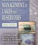 RESTORATION AND MANAGEMENT OF LAKES AND RESERVOIRS, THIRD EDITION