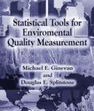 Statistical tools for environmental quality measurement