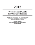 Weed Control Guide for Ohio and Indiana