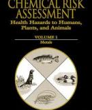 HANDBOOK OF  CHEMICAL RISK ASSESSMENT: Health Hazards to Humans, Plants, and Animals VOLUME 1