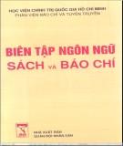 Ebook Biên tập ngôn ngữ sách và báo chí (Tập 2)