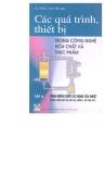 các quá trình, thiết bị trong công nghệ hóa chất và thực phẩm (tập 4) - gs.tskh. nguyễn bin
