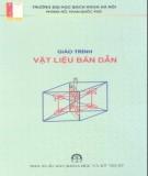 Giáo trình Vật liệu bán dẫn - Phùng Hồ, Phan Quốc Phô