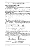 Bài giảng Xử lý tín hiệu số - Điện điện tử