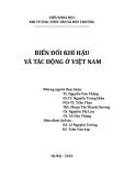 Những tác động dẫn đến biến đổi khí hậu ở Việt Nam