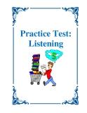 Practice Test: Listening