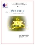 Luận văn đề tài: Marketing trực tuyến