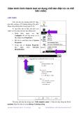 Hình thành tool sử dụng chế bản điện tử và chế bản video