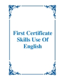 Sách First Certificate Skills Use Of English