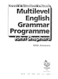 Multilevel English Grammar Programme