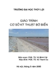 Giáo trình Cơ sở kỹ thuật bờ biển - ĐH Thủy lợi