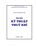 Giáo trình Kỹ thuật thủy khí - PGS.TS Hoàng Đức Liên